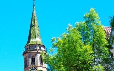 Auf dem Kirchturm
